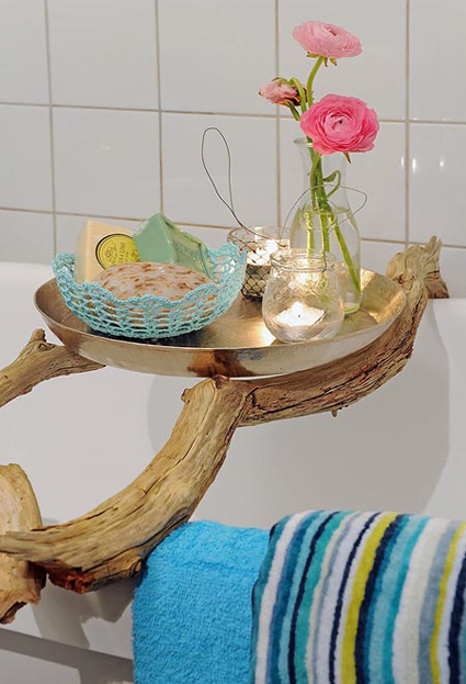 Ideas Originales Baño:Tres ideas originales para decorar con ramas « DecoraTrucos