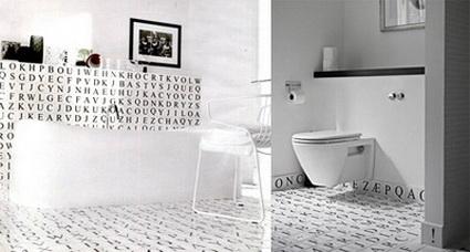 Originales azulejos para el ba o decoratrucosdecoratrucos - Combinacion de azulejos para banos ...