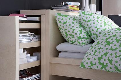 convierte la cama en tu lugar de trabajo decoratrucosdecoratrucos. Black Bedroom Furniture Sets. Home Design Ideas