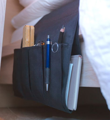 Convierte la cama en tu lugar de trabajo - Organizador mandos a distancia ...