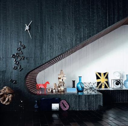 Un moderno rinc n bajo la escalera decoratrucosdecoratrucos for Como utilizar el espacio debajo de las escaleras