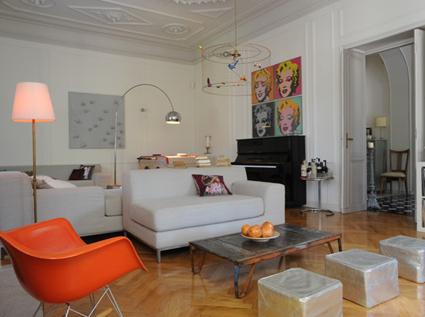 Combinar arquitectura cl sica con una decoraci n moderna - Decoracion clasica moderna ...