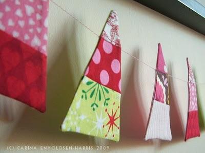 Una guirnalda para navidad decoratrucosdecoratrucos - Guirnaldas navidad manualidades ...