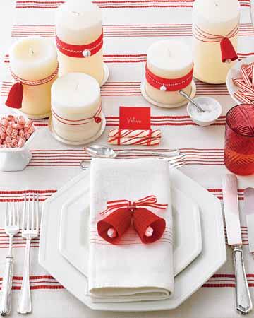 Algunas ideas para la mesa navide a decoratrucosdecoratrucos - Mesa navidena ...