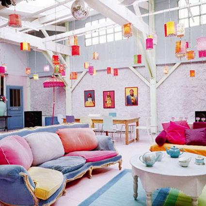 lmparas de papel para decorar interiores