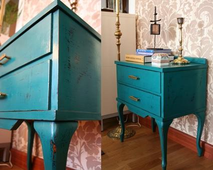 Crea tus propios muebles envejecidos for Vintage muebles y objetos