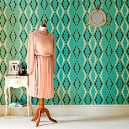 Papel tapiz vintage Â« decoratrucos