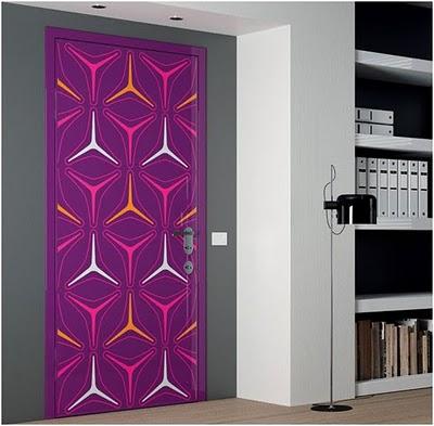 Ideas para personalizar puertas decoratrucosdecoratrucos - Puertas originales interiores ...