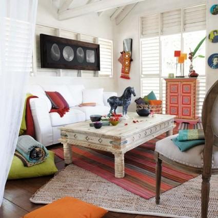 Cojines para el suelo decoratrucos for Salas con cojines en el piso
