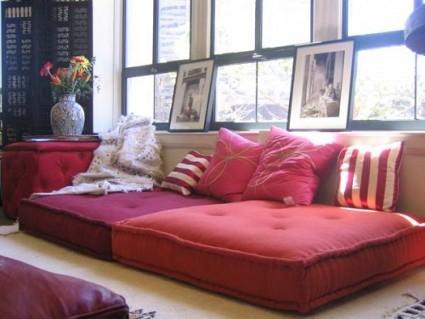 Cojines para el suelo decoratrucos - Cojines para sentarse ...