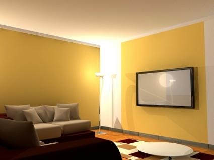 Consejos para escoger el color ideal para las paredes for Pintura beige pared