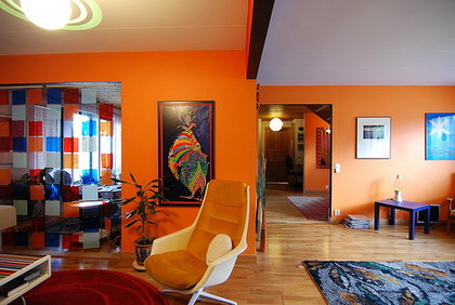Anmate a utilizar el color naranja DecoraTrucosDecoraTrucos