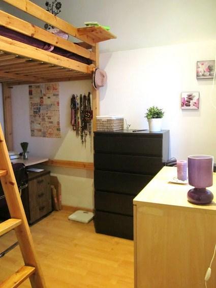 Un peque o apartamento organizado decoratrucosdecoratrucos - Aprovechar espacio dormitorio ...