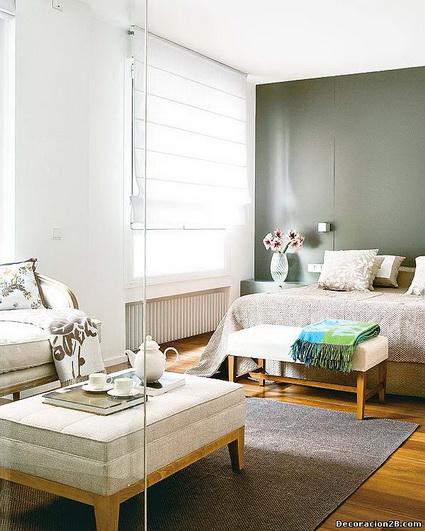 Un dormitorio con tres ambientes decoratrucosdecoratrucos - Ambientes de dormitorios ...