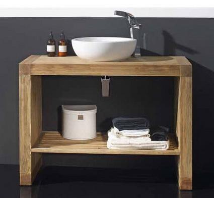 Ba os estilos lindos muebles de madera para el ba o for Muebles para bano en madera