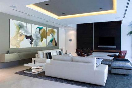 Una casa moderna en madrid decoratrucosdecoratrucos - Casas modernas madrid ...