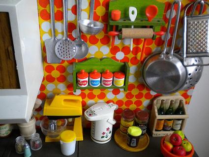 Colores para cocinas retro decoratrucosdecoratrucos - Decoracion vintage cocina ...