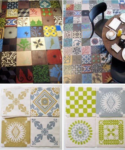 Mezclando azulejos en suelos y paredes - Combinar color suelo y paredes ...
