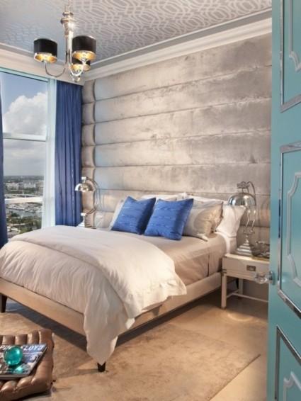 Habitaciones Decoradas En Azul Y Gris