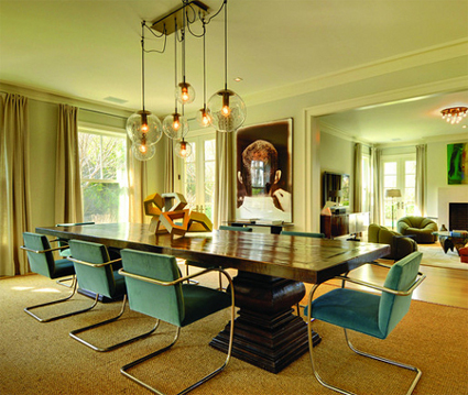 Dining Rooms Areas, Light Fixture, Interior Lighting, Modern Interiors