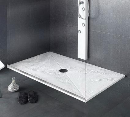 platos de ducha de nuevos materiales