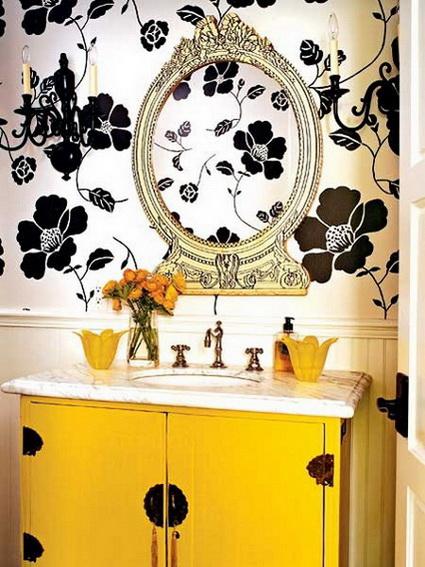 Baño Amarillo Decoracion:Baños amarillos