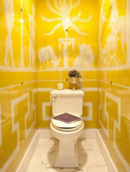 Accesorios Baño Amarillo:Baños amarillos