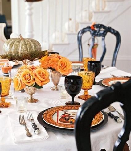 Decoracin de mesas elegantes para Halloween DecoraTrucosDecoraTrucos