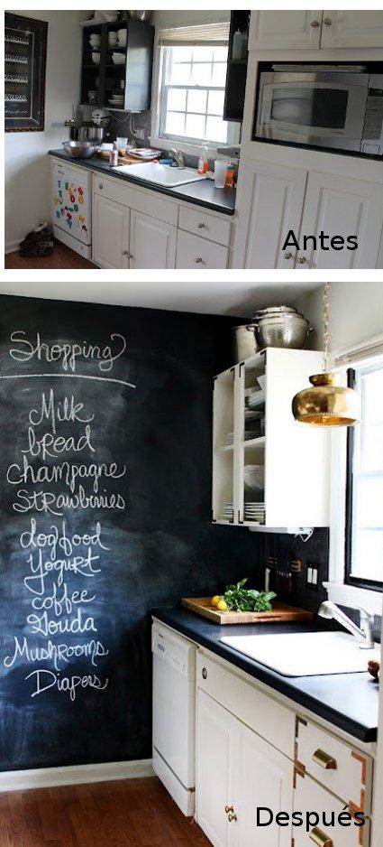 Reforma de una cocina peque a decoratrucosdecoratrucos for Como remodelar una casa vieja con poco dinero