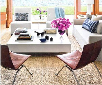 Una mesa de centro minimalista decoratrucosdecoratrucos for Articulos de decoracion minimalista