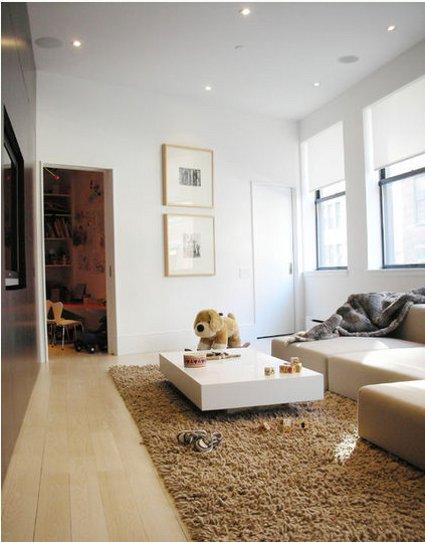 Una mesa de centro minimalista decoratrucosdecoratrucos - Mesas de centro minimalistas ...