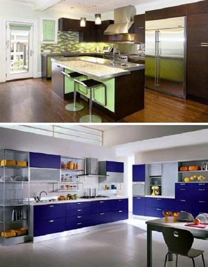 Colores para cocinas con gabinetes oscuros - DecoraTrucosDecoraTrucos