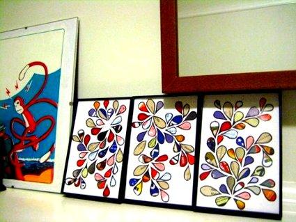 Recicla revistas y cat logos para hacer arte for Hacer marcos para cuadros economicos