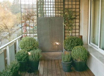 Ideas para decorar terrazas decoratrucosdecoratrucos - Fuentes para terrazas ...
