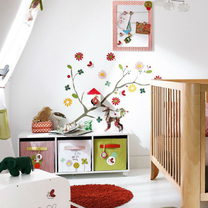 Ideas para decorar paredes infantiles y juveniles - Decorar pared infantil ...