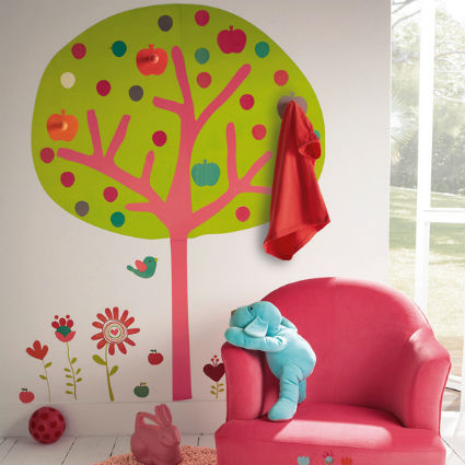 Ideas para decorar paredes infantiles y juveniles for Ideas para decorar paredes infantiles