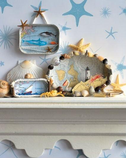 Decoraci n con objetos marinos decoratrucosdecoratrucos - Objetos de buena suerte ...