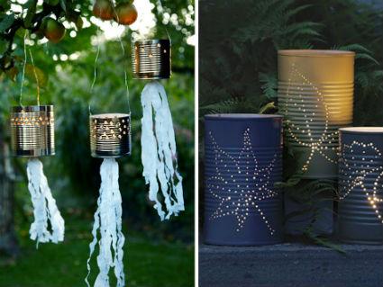 Iluminar el jard n decoratrucosdecoratrucos for Iluminar arboles jardin