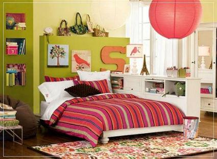 Dormitorios juveniles bien decorados - Iluminacion habitacion juvenil ...
