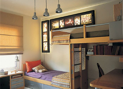 Dormitorios juveniles poco espacio dormitorios infantiles pequeos scales partido elmueblecom - Soluciones escaleras poco espacio ...