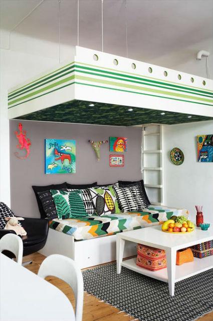 Iluminar espacios peque os decoratrucosdecoratrucos for Ideas para decorar departamento pequeno