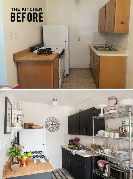 Antes y despu s de una cocina decoratrucosdecoratrucos - Kitchen designs for small apartments ...