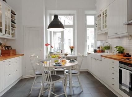 Ideas para decorar pisos peque os decoratrucosdecoratrucos for Cocinas pisos pequenos