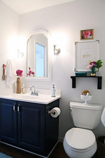 Iluminacion Baño Pequeno:Ideas para baños pequeños « DecoraTrucos