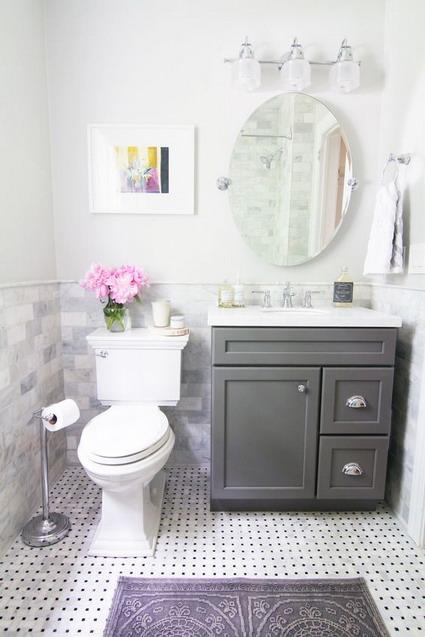baño pequeño decorar