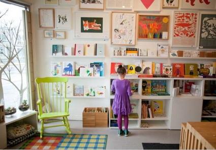 Bibliotecas para habitaciones infantiles dragtime for - Dormitorio infantil original ...