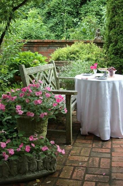 jardin decorar