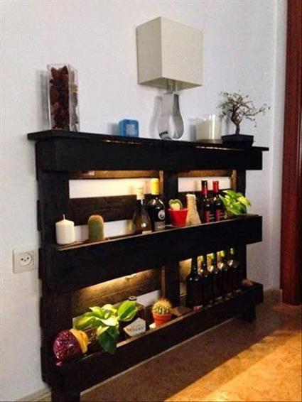 Crea con palets decoratrucosdecoratrucos - Palet de madera decoracion ...