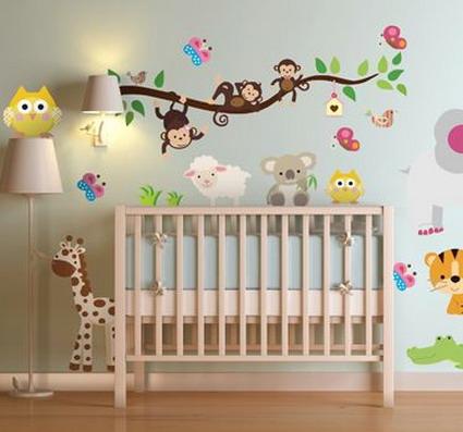 Decorando la habitaci n del beb decoratrucosdecoratrucos for Como decorar la habitacion de un bebe