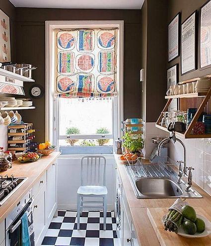 Ideas para cocinas peque as decoratrucosdecoratrucos for Ideas de cocinas pequenas